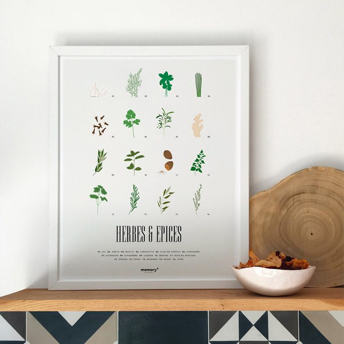memory-affiches-herbes-épices-1