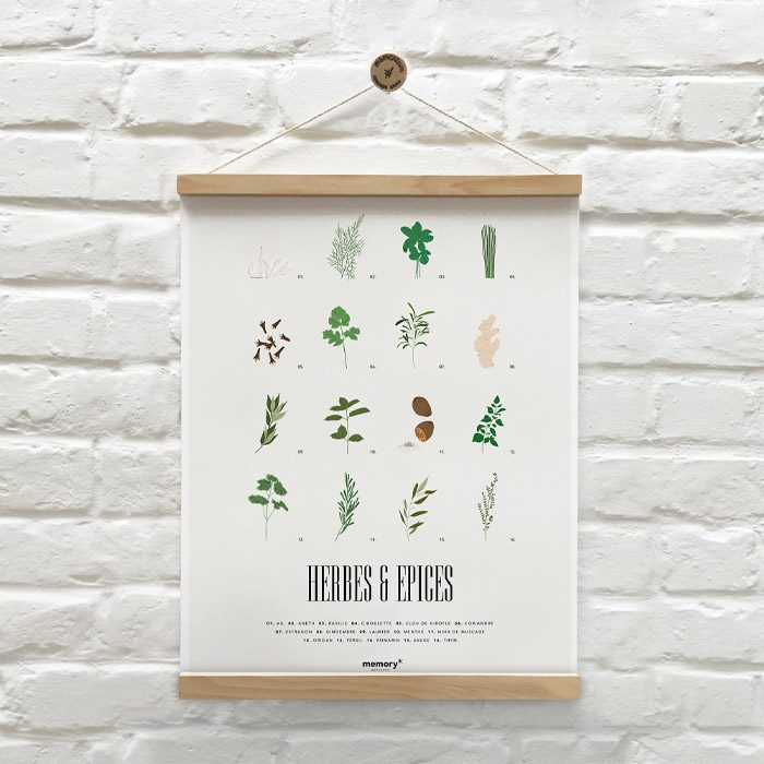 memory-affiches-herbes-épices-2